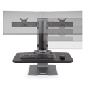 Winston-E Workstation Dual - Monitor Adjustment Range