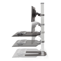 Winston Workstation Dual - Adjustable Height Range