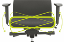 Goal 156GW Series  Chair - Seat Movement Option