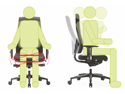 Goal 156GW Series  Chair - Seat & Back Rest Move