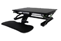 Goldtouch EasyLift Sit/Stand Desk Pro - Tray Lowered