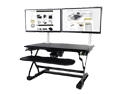 Goldtouch EasyLift Sit/Stand Desk Pro - Accommodates Dual Monitors