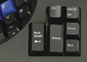 Advantage Contoured Keyboard - Separate thumb keypads