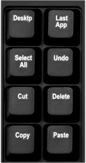 Freestyle Pro Keyboard - Preprogrammed Hot Key Bank