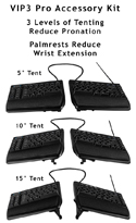 Freestyle VIP3 Pro Accessory Kit showing 3 tenting variations