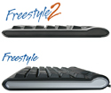 Side profile comparison between Freestyle2 and original Freestyle Solo