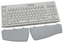 Maxim Adjustable Keyboard - compact with palm supports detached