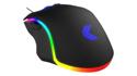 Vektor RGB Gaming Mouse - Rear View