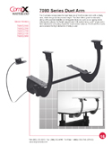 Sit-Stand Duet Arm - Information