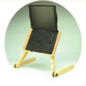 The Original Laidback Laptop Tray: with laptop mounted
