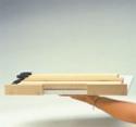 The Original Laidback Laptop Tray: compact flat