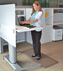 Newlife Eco Pro Anti Fatigue Mats for Sit-Stand Applications