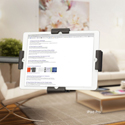 LEVO Dual Clamp Tablet Cradle with Tablet