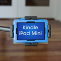 LEVO Dual Clamp Tablet Cradle with Kindle/iPad Mini Size Tablet