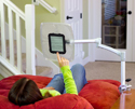 Levo G2 Deluxe Table Clamp Stand - Lets You Recline While Reading or Browsing