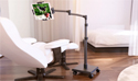 LEVO G2 Deluxe Tablet Stand - Dual Clamp Tablet Cradle