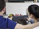 Wireless Touch Keyboard - In Use