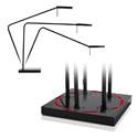 Luxo Ninety Freestanding Task Light - Wide Range of Adjustment