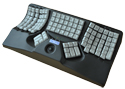 Maltron Dual-Handed 3-D Keyboard with Integrated Trackball