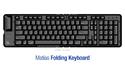 Matias Folding Keyboard for PC or Mac - Mac layout