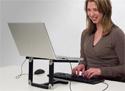 Matias Folding Keyboard for PC or Mac - in use