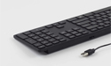 Matias RGB Backlit Wired Aluminum Keyboard - Black PC model