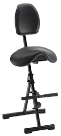 MVMNT Foldable Sit-Stand Saddle Chair