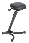 TULEAN Sit-Stand Comfort Leaning Stool