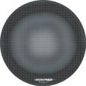 WowPad Circular Mousing Surface #8DG55-001 - Black Graphite