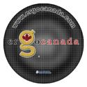 WowPad Circular Mousing Surface #8DG55-ERGO - ErgoCanada Logo