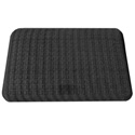 Sit-Stand Smart Mat - Textured Waffle Finish, Charcoal Black
