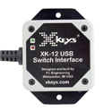 X-Keys USB 12 Switch Interface - Front View