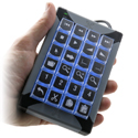 X-Keys XK-24 Programmable Keypad - Handheld Convenience