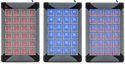 X-Keys XK-24 Programmable Keypad - Blue, Red, or Combined Backlighting