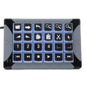 X-Keys XK-24 Programmable Keypad - Horizontal or Vertical Orientation Options