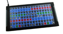 X-keys XKE-128 keypad with one hundred and twenty-eight programmable keys