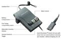 Plantronics Vista M22 Amplifier Controls and Connections
