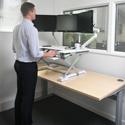 DeskRite 100 in Use
