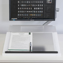 MultiLite Adjustable Document Holder - Writing Tray in Use