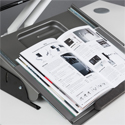 MultiRite Pull Down Document Holder