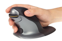 Penguin Ambidextrous Vertical Mouse - Correct Hand Positioning