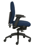 Posturite Positiv Plus Medium Back Task Chair - Side View