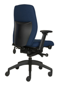 Posturite Positiv Plus Medium Back Task Chair - Profile View