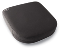 SupporTech Adjustable Memory Foam Seat Cushion - Valve Located on Underside