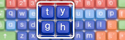 Clevy SimplyWorks Wireless Keyboard  - Orthogonal Key Layout