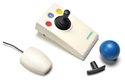 OptimaX Wireless Joystick - Wth receiver and optional grips