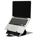 R-Go Riser Duo Tablet and Laptop Stand - With Laptop