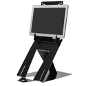 R-Go Riser Duo Tablet and Laptop Stand - With Tablet