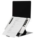 R-Go Riser Duo Tablet and Laptop Stand  - Inline Document Support