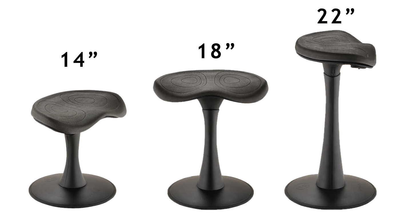 Focal Fidget Active Stool By Safco Products Ergocanada